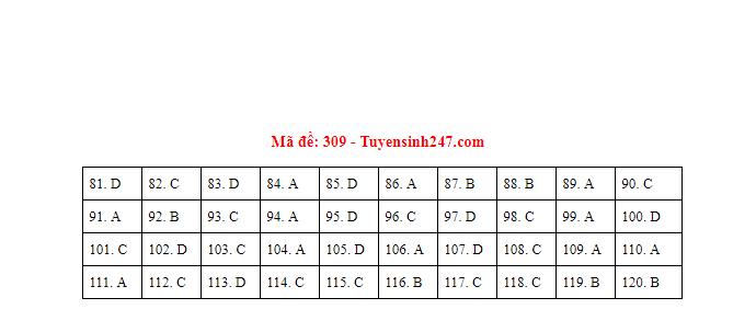 Gợi ý đáp án môn GDCD mã đề 307 - 308 - 309 tốt nghiệp THPT 2020 chuẩn nhất, chính xác nhất - Ảnh 3