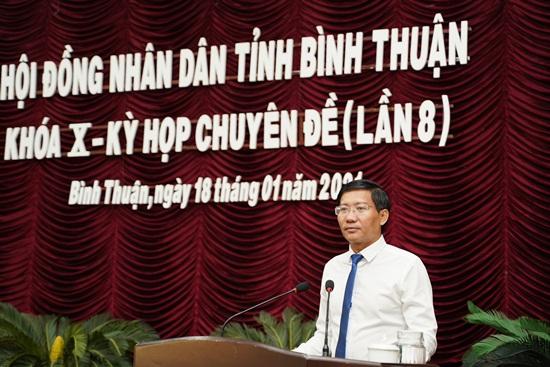 Thủ tướng phê chuẩn Chủ tịch UBND tỉnh Bình Thuận - Ảnh 1