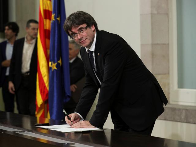 Tây Ban Nha bác bản tuyên bố độc lập của Catalonia - Ảnh 1
