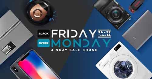 """Black Friday 2017: Những địa chỉ mua sắm khuyến mại """"khủng """"tại Việt Nam - Ảnh 1"""