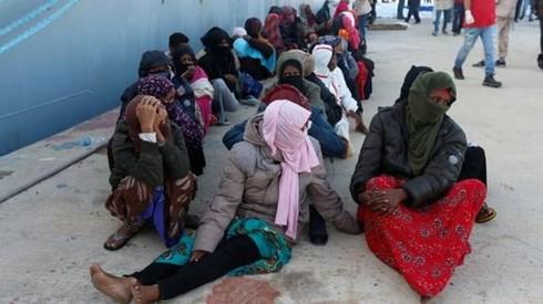 Libya: Chìm tàu ngoài khơi khiến 31 người di cư thiệt mạng - Ảnh 1