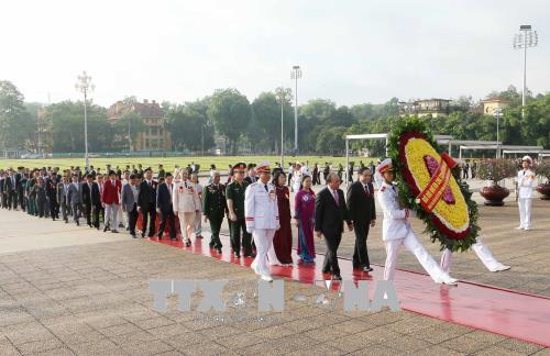 Lễ kỷ niệm 70 năm Ngày Chủ tịch Hồ Chí Minh ra Lời kêu gọi thi đua ái quốc - Ảnh 9