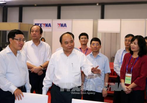 Thủ tướng kiểm tra công tác chuẩn bị cho các hội nghị cấp cao - Ảnh 1