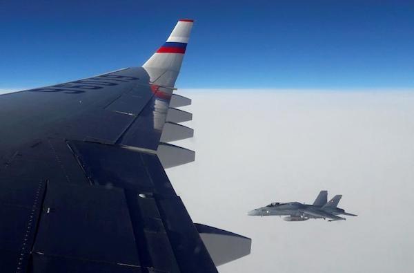 Vụ máy bay Nga bị tiêm kích áp sát: Thụy Sĩ lên tiếng - Ảnh 1