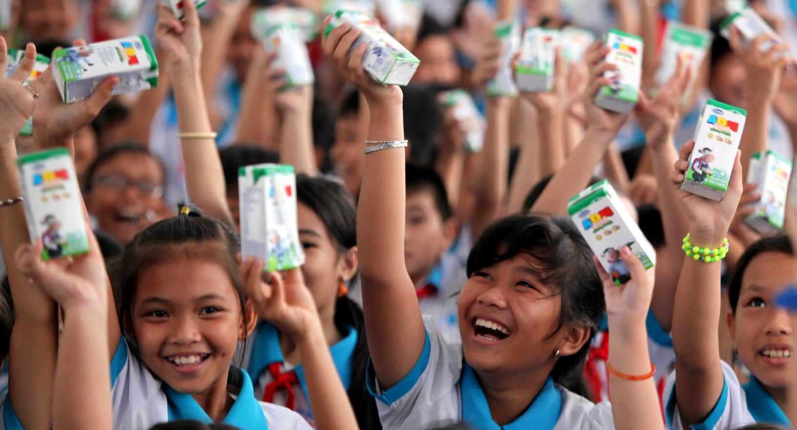 Vinamilk và Quỹ sữa Vươn cao Việt Nam trao tặng sữa cho trẻ em Cần Thơ - Ảnh 5