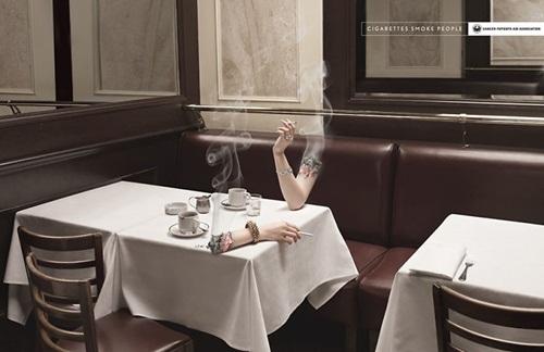 """Những bức ảnh khiến người hút thuốc lá sợ """"xanh mắt"""" - Ảnh 11"""