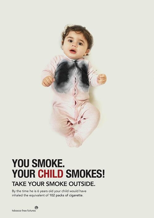 """Những bức ảnh khiến người hút thuốc lá sợ """"xanh mắt"""" - Ảnh 13"""