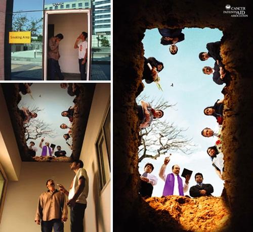 """Những bức ảnh khiến người hút thuốc lá sợ """"xanh mắt"""" - Ảnh 1"""