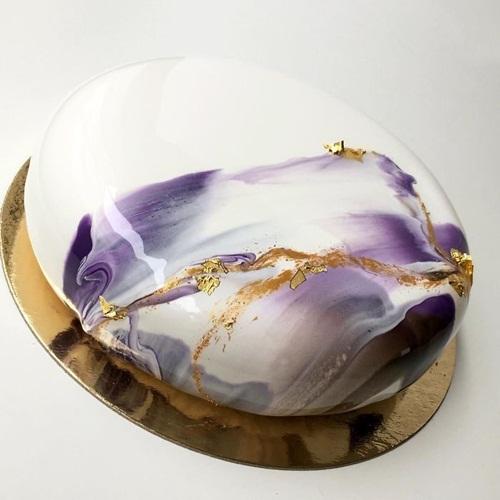 Nghệ thuật làm bánh Mousse tráng gương cực lung linh - Ảnh 5