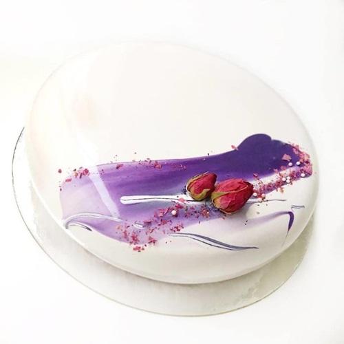 Nghệ thuật làm bánh Mousse tráng gương cực lung linh - Ảnh 9