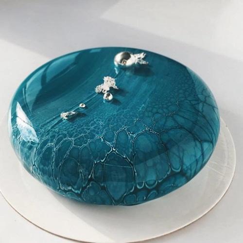 Nghệ thuật làm bánh Mousse tráng gương cực lung linh - Ảnh 1