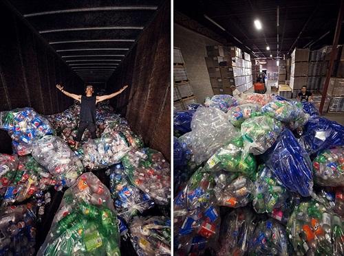 Chùm ảnh đáng suy ngẫm về rác thải nhựa và nàng tiên cá - Ảnh 6