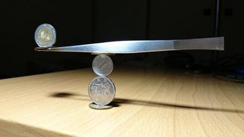 Chùm ảnh cho thấy xếp đồng xu là cả một nghệ thuật - Ảnh 8