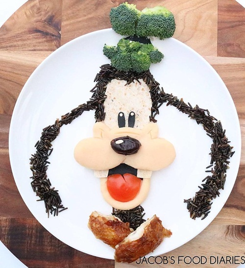 Ngắm những tác phẩm nghệ thuật được sáng chế từ… thức ăn - Ảnh 10