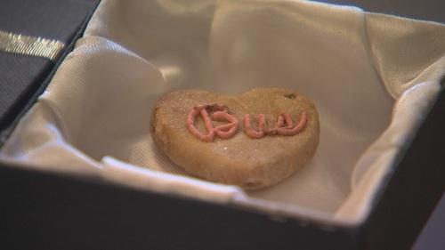Chiếc bánh quy được lưu giữ qua 2 thế kỷ - Ảnh 1