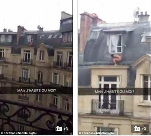 Người đàn ông khỏa thân trên mái nhà để trốn chồng của người tình - Ảnh 1