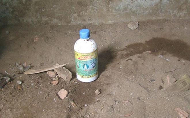 Buồn chuyện gia đình, mẹ ép con gái 3 tuổi cùng uống thuốc diệt cỏ tự tử - Ảnh 1
