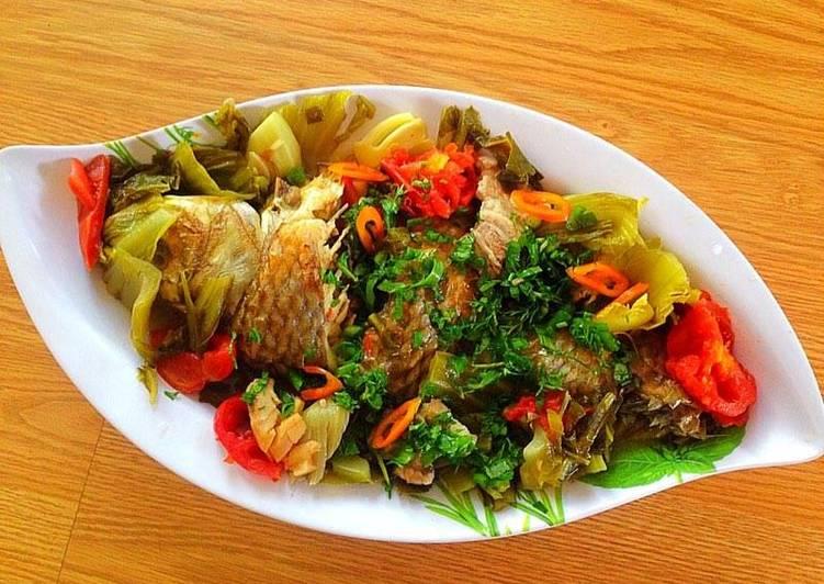 Bữa tối ngon cơm với món cá chép om dưa đậm vị - Ảnh 3