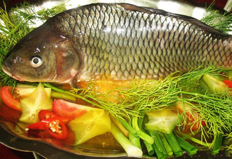 Bữa tối ngon cơm với món cá chép om dưa đậm vị - Ảnh 2