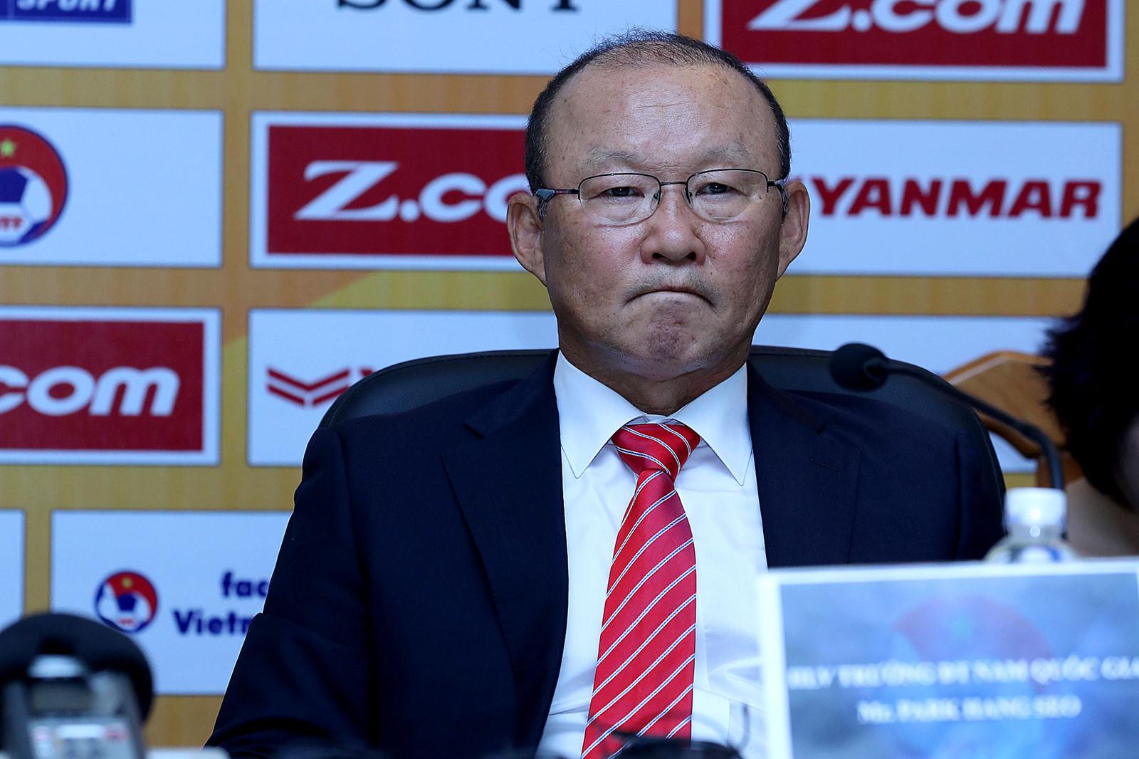 """HLV Park Hang Seo: """"Đội tuyển Việt Nam không ngại đối đầu với Thái Lan tại AFF Cup"""" - Ảnh 1"""