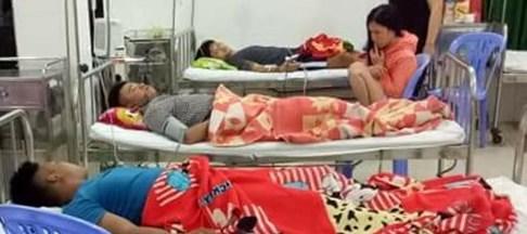 7 thanh niên nhập viện cấp cứu trong đêm sau bữa ăn nhậu kinh hoàng - Ảnh 1