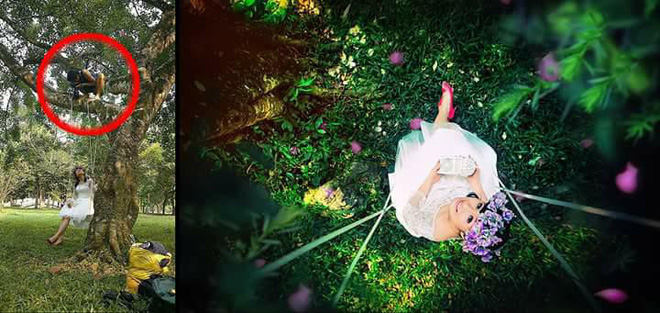 Chụp ảnh như này thì đến nhiếp ảnh gia cũng phải 'nể' các 'thánh lầy' - Ảnh 10
