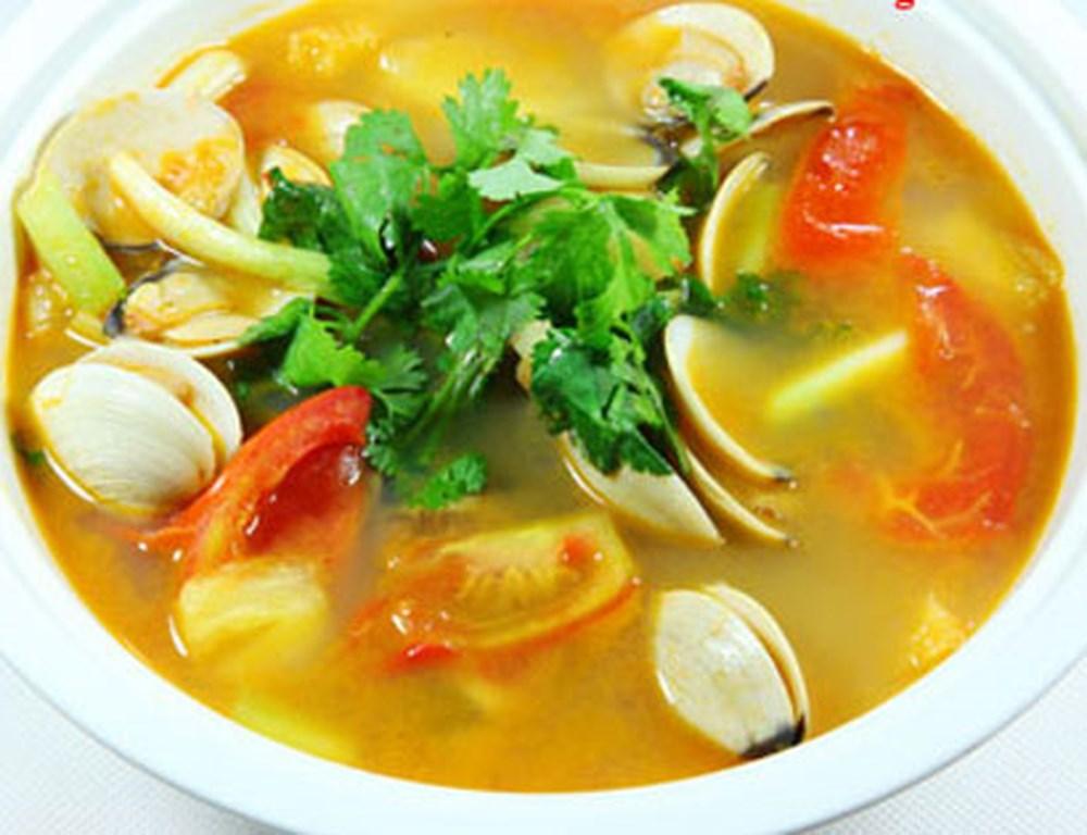 Món ngon bữa trưa: Canh ngao nấu chua thanh mát ngon cơm - Ảnh 3