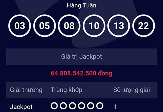 Người trúng giải đặc biệt Jackpot 65 tỷ đồng đến từ TP HCM - Ảnh 1
