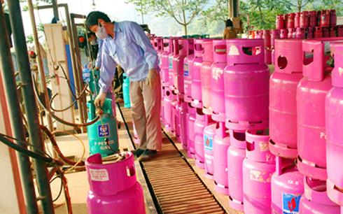 Giá gas tháng 12 giảm 2.500 đồng/bình 12 kg - Ảnh 1