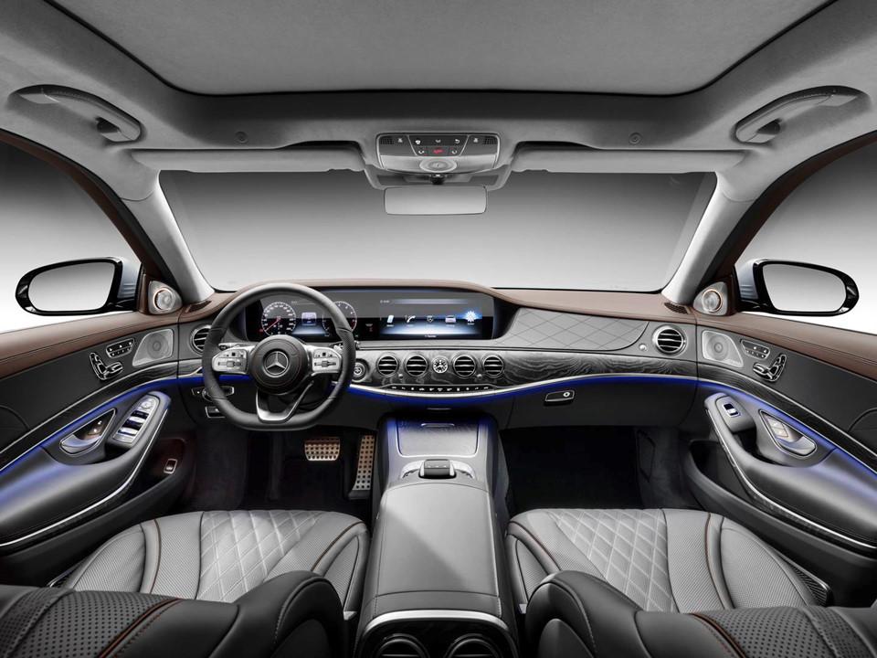 Dòng sedan cao cấp Mercedes-Benz S-Class 2018 giá từ 2,06 tỷ đồng - Ảnh 2