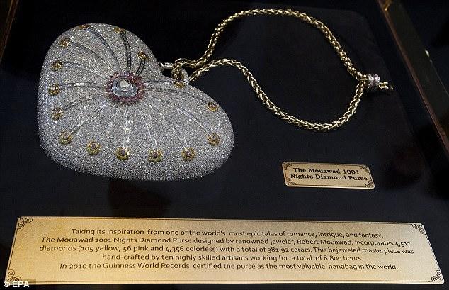 Giới siêu giàu chi hơn 86 tỷ đồng cho chiếc túi xách kim cương đắt nhất thế giới - Ảnh 2