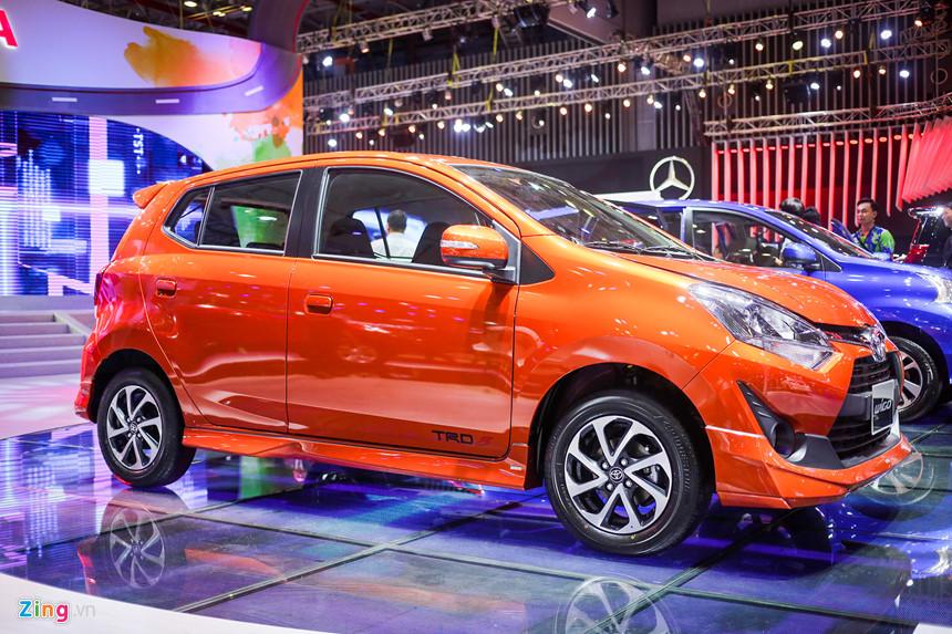 Toyota Wigo giá chỉ hơn 300 triệu đồng có mặt tại Việt Nam - Ảnh 1