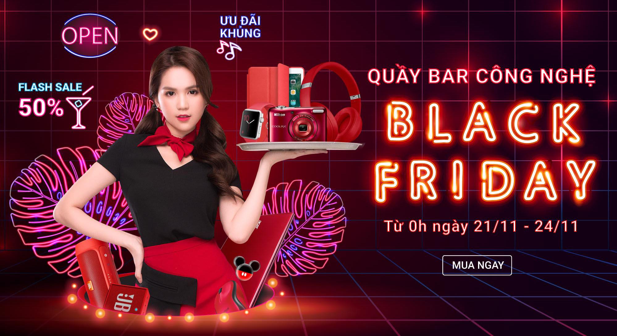 """Loạt trang thương mại điện tử Việt giảm giá """"sập sàn"""" trong dịp Black Friday 2017 - Ảnh 1"""