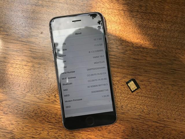 Thị trường iPhone lock sôi động nhờ sự xuất hiện của SIM ghép thế hệ mới - Ảnh 1