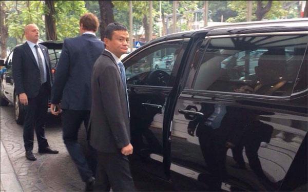 Hình ảnh đầu tiên của tỷ phú Jack Ma tại Việt Nam - Ảnh 1
