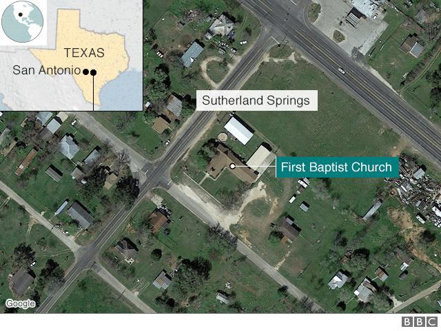 Hiện trường vụ xả súng ở nhà thờ Mỹ khiến khoảng 50 người thương vong - Ảnh 6