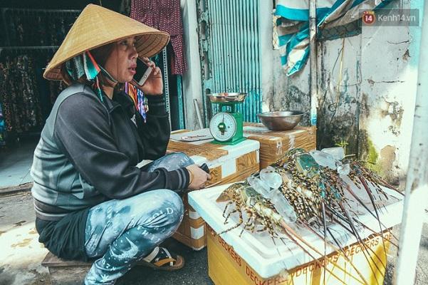"""Ngư dân Khánh Hòa mang tôm hùm lên Sài Gòn bán rẻ """"vớt vát"""" sau bão số 12 - Ảnh 1"""
