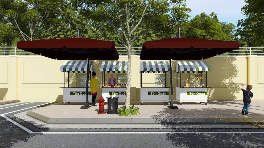 Sài Gòn sắp khai trương phố bán hàng rong - Ảnh 3