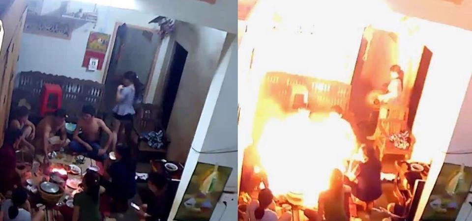Nổ bình gas mini tại Đắk Lắk, 8 người thoát nạn - Ảnh 1