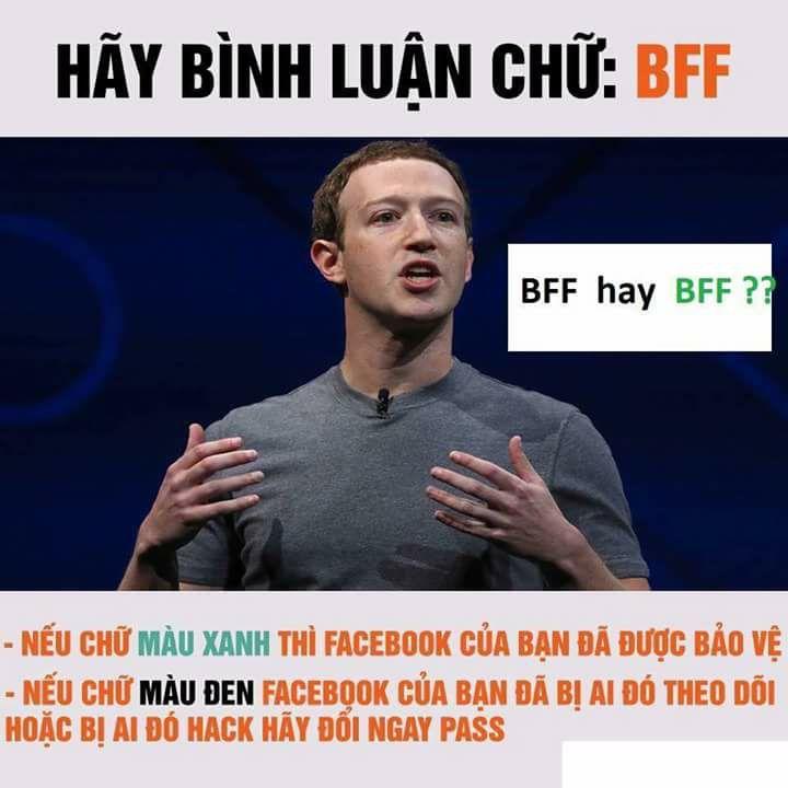 """Cư dân mạng dính cú lừa """"bình luận BFF để xác minh Facebook an toàn"""" - Ảnh 1"""