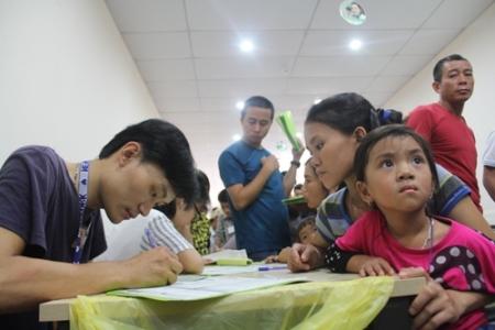Trả lại nụ cười cho gần 200 em nhỏ dị tật hở hàm ếch ở Nghệ An - Ảnh 1