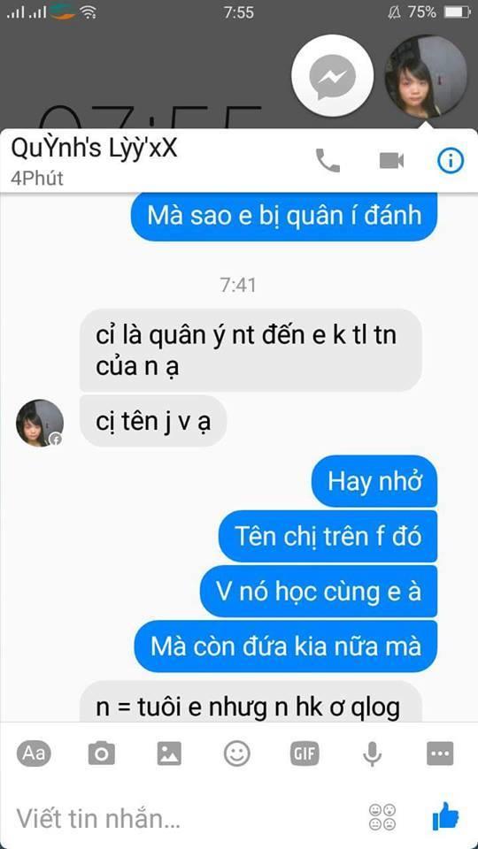 Nhóm nữ sinh đánh bạn vì nhắn tin trên facebook không được trả lời - Ảnh 3