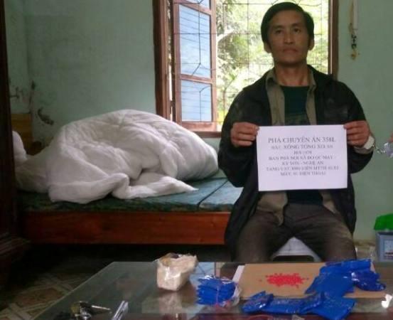 Bắt đối tượng vận chuyển ma túy từ Lào về Việt Nam - Ảnh 1