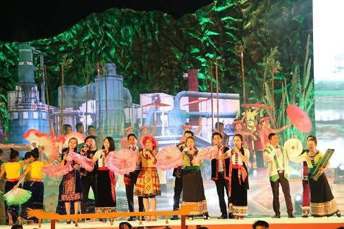Tưng bừng Ngày hội hoa hướng dương và Đêm hội sắc xuân miền Tây ở Nghệ An - Ảnh 4