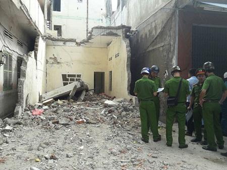 Sập sàn bê tông công trình, một công nhân thiệt mạng - Ảnh 1
