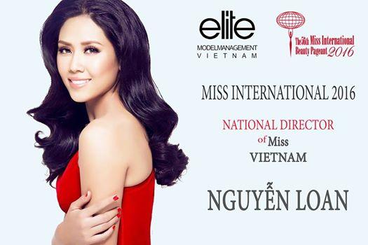 Nguyễn Thị Loan trở thành giám đốc quốc gia của Miss International 2016 - Ảnh 2