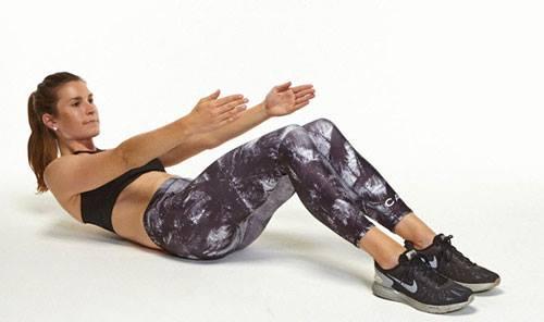Cách giảm mỡ bụng và hông bằng các bài tập thể dục tại nhà - Ảnh 2