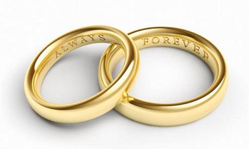 5 mẹo chọn nhẫn cưới cho các cặp đôi - Ảnh 1