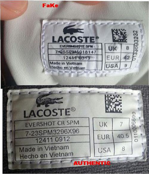 Chỉ bạn cách chọn giày Lacoste xịn, chuẩn hàng chính hãng - Ảnh 3