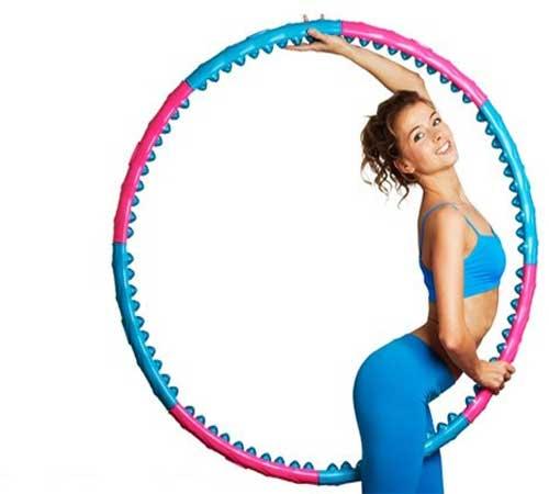 Cách giảm mỡ bụng bằng cách lắc vòng - Ảnh 2